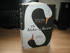 Paraic O'Donnell - The Maker of Swans *Signed* 2016 1st HB gothic fantasy debut