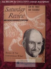 Saturday Review April 18 1953 GEORGE GAYLORD SIMPSON SIDNEY HOOK