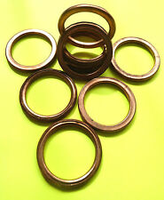 COPPER EXHAUST GASKETS SEAL HEADER GASKET RING 40mm OD, 31mm ID *NEW DESIGN* F40