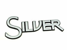 Genuine New FORD SILVER BOOT BADGE Rear Emblem For Focus Mk1 1998-2004 TDCi SED