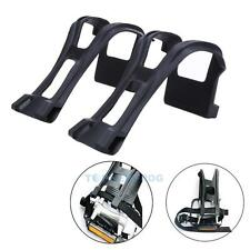 Cycling Bicycle Strapless MTB Bike Toe Clips Half Clips with Fittings Pedal New