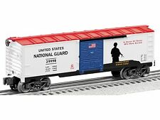 Lionel US National Guard Made In The USA Box Car 6-29998 O Gauge Model Trains