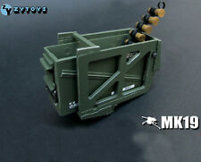 1/6 ZY TOYS Scale MK19 Grenade Launcher US Marine Ammunition Ammo Box Figure