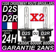 PAIRE AMPOULE LAMPE FEU PHARE XENON D2S D2R HID 35W FEUX RECHANGE BLEU BLEUTEE