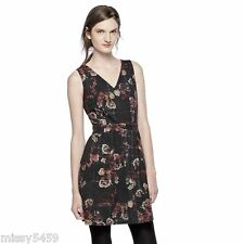 THAKOON for DESIGNATION LONDON Women's Gray Multi Floral Fit & Flare Dress 4