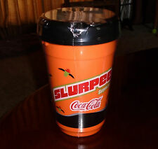 NWT SEALED 7-ELEVEN HALLOWEEN SLURPEE CUP+LID REFILLABLE COCA-COLA EMBLEM 7-11