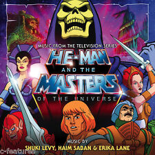 HE-MAN MASTERS OF THE UNIVERSE 2-CD Set LA-LA LAND Ltd TV Soundtrack SCORE New!