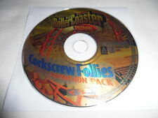 RollerCoaster Tycoon: Corkscrew Follies Expansion - PC Computer game Disc Only