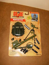 "G.I. JOE Classic ( 12"" / 30cm ) - MORTAR PIT Mission Gear set - 1996"