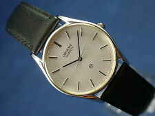 Vintage Orient Quartz Gents Watch Circa 1980s New Old Stock NOS