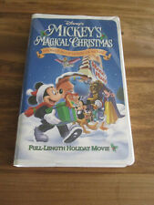 Mickey's Magical Christmas: Snowed In at the House of Mouse (VHS, 2001)