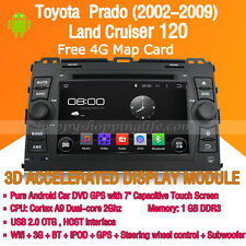Android Car Stereo DVD GPS Wifi 3G for Toyota Prado Land Cruiser 120 2002-2009
