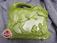 Vintage The Lost World Jurassic Park Thermos T-Rex Lunch Box!