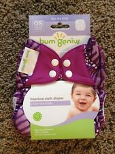 NIP BumGenius Freetime Cloth Diaper - Patch