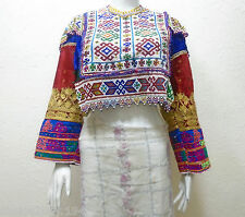 Kuchi Afghan Banjara Tribal Boho Hippy Vintage Handmade Special DRESS TOP DT-16