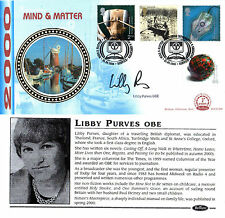 5 SEPTEMBER 2000 MIND AND MATTER BENHAM FDC SIGNED BY LIBBY PURVES