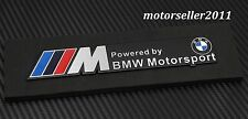 3D Aluminium ///M Motorsport Logo Decal Badge Sticker Emblem Fit For All BMW A+