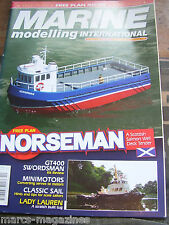 MODEL BOATS MARINE MODELLING OCTOBER 2007 NORSEMAN SALMON  WELL TENDER PLAN