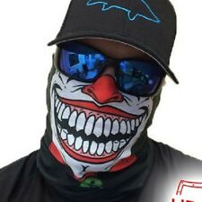 Salt Armour Clown Joker Face Shield Sun Mask Balaclava Neck Gaiter Neckerchief