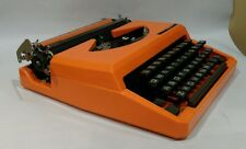 Vintage Citizen Columbia XL Manual Typewriter Orange w/cover AS-IS FOR PARTS/REP