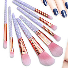 Neu 8tlg Lidschatten Pinsel Make up Professionelle Kosmetik Schminkpinsel Set