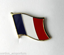 FRANCE NATIONAL COUNTRY WORLD FRENCH FLAG LAPEL PIN BADGE 1 INCH