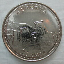 1992 CANADA 25¢ ALBERTA BRILLIANT UNCIRCULATED QUARTER