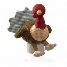 NWT Gund A Harvest of Happiness Gobbles Sound Turkey Toy 4""