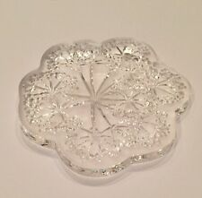 Lalique 2002 Ombrlles Umbelas Crystal Christmas Ornament