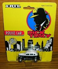 Modellauto Ertl Die-Cast Metal Dick Tracy Police Car misp auf Karte