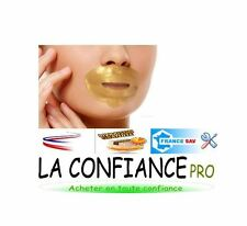 LOT 3 MASQUE CONTOUR DE LA BOUCHE  OR _ PATCHS COLLAGENE LEVRES PULPEUSE