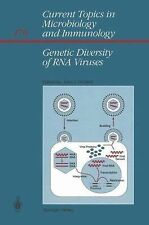 Genetic Diversity of RNA Viruses (Current Topics in Microbiology and I-ExLibrary