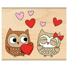 PENNY BLACK RUBBER STAMPS OWL ALWAYS LOVE YOU NEW STAMP 2013