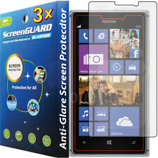 3x Anti-Glare Matte LCD Screen Protector Guard Cover Film for Nokia Lumia 925
