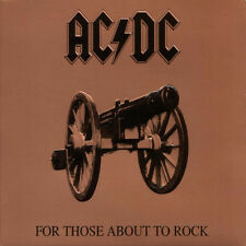 AC/DC For Those About To Rock 180g GATEFOLD Columbia Records ACDC New Vinyl LP