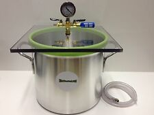 5 Gal Aluminum Vacuum Chamber  With SlickVacSeal