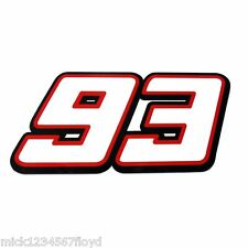 Marc Marquez 93 decals custom graphics stickers Moto gp x 2 pieces