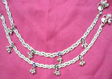 Designer Fancy Silver Tone Cross Chain Anklet/Payal