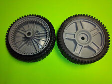 NEW HUSQVARNA SP DRIVE WHEELS WITH GEARS 581009202 OEM 2 PACK FREE SHIPPING