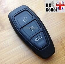 "3 Button Smart Key Per Ford Fiesta Focus Mondeo C-Max S-Max Galaxy ""CON LOGO"""