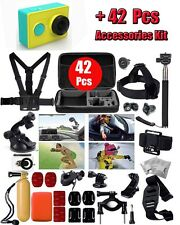42in1 Accessories Set Chest/Head Strap +Xiaomi Yi Sports 1080P Auction Camera DV