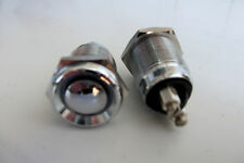 Push  Button Start  Switch  x  2   Stainless  Steel car dash