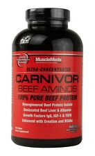 MuscleMeds Carnivor BEEF AMINOS 100% Pure Beef Protein 300 Tablets