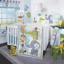Lambs & Ivy Yoo-Hoo 6 Piece Baby Nursery Crib Bedding Set w/ Bumper & Mobile NEW