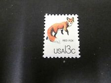 USA 1976 RED FOX POSTAGE STAMP, PERFECT CONDITION JUST AS ISSUED 38 YEARS AGO.
