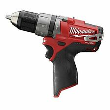 Milwaukee 2404-20 M12 12V 12 Volt Fuel 1/2 Hammer Drill Brushless Cordless Bare