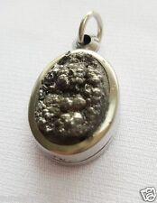 Mini Leklai Pendant Natural Stone Thai Amulet Luck Rich Wealth Success