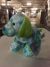 Webkinz Tropical Island Pup HM600 Soft Plush Animal With Online Code From Ganz