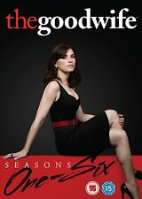 THE GOOD WIFE Stagioni 1-6 Serie Complete BOX 36 DVD in Inglese NEW PRENOTAZ.