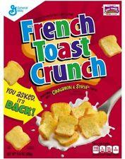 French Toast Crunch Cereal, 11.6 Oz Sweet and Healthy Breakfast Food